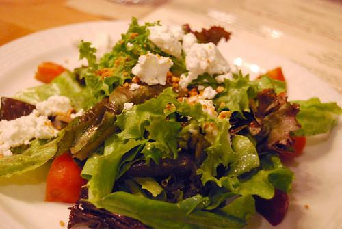 Roasted Beet & Green Salad