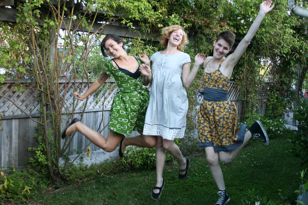Chels, Dana + Megan