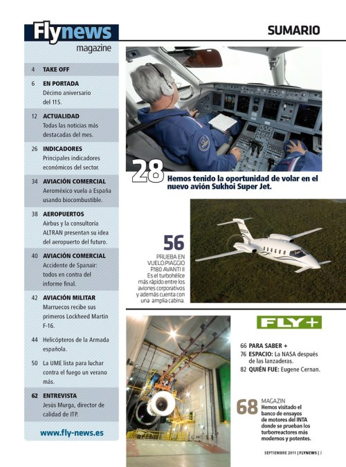 Sumario nº14 Flynews
