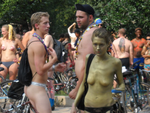 Philadelphia Naked Bike Ride
