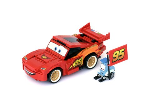 8484 Ultimate Build Lightning Mcqueen - 1