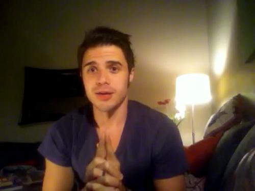 Kris Allen sophomore album update screen capture picture 35