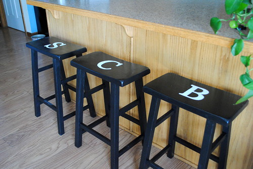 Stamped stools