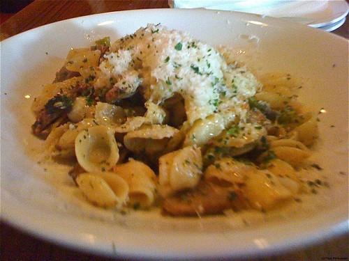 Orecchiette Pasta - Nook Restaurant