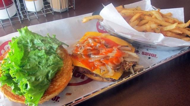 order up at smashburger