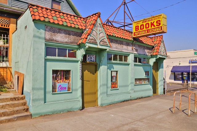 Funky Portland Book Store