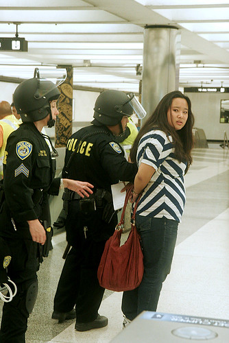 SF Chron's Vivian Ho arrested