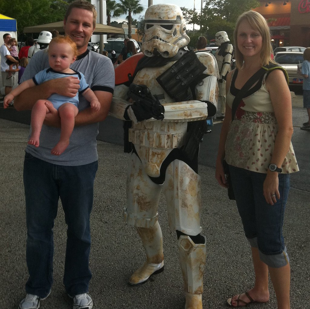 PJ and Stormtrooper