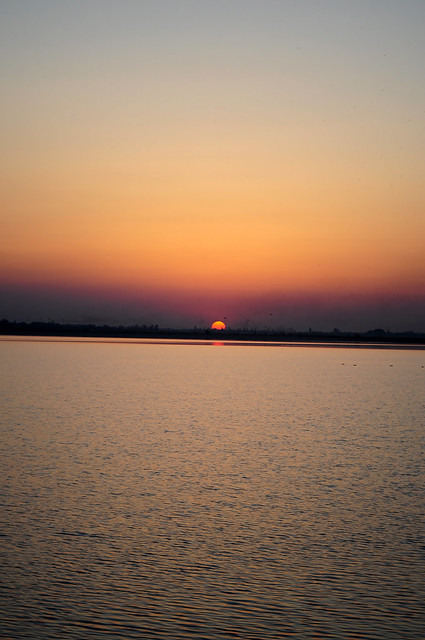Sunset over Lacul Morii 2