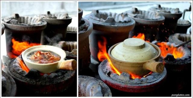 pots of fire