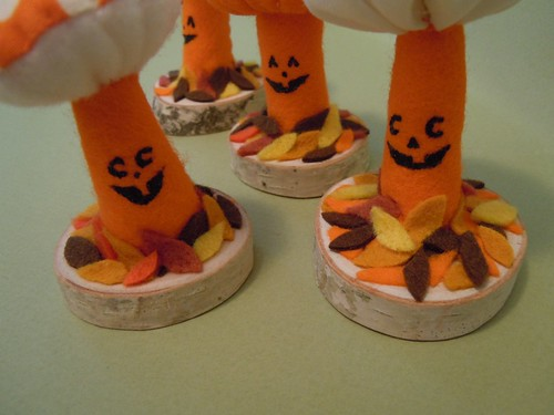 Pumpkin Mushroom Plushies