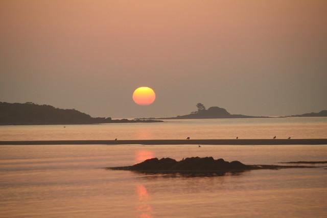 sunrise, Hills Beach