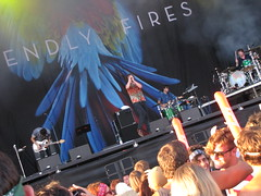 Friendly Fires live at Frequency Festival