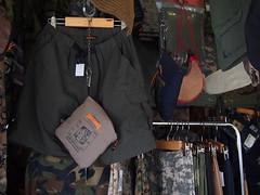 Army supplies stall, Chatuchak Weekend Market