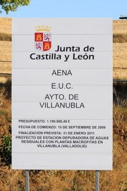 Depuradora en Villanubla