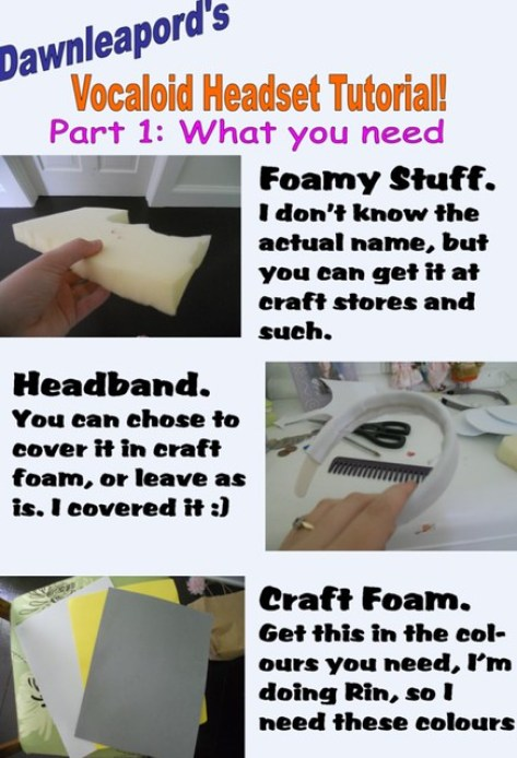 How to Make Vocaloid Headset