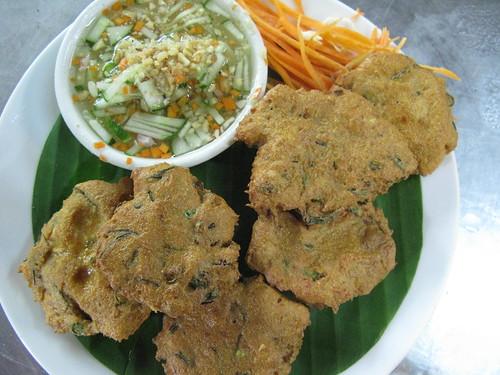 vegan thai fish cakes