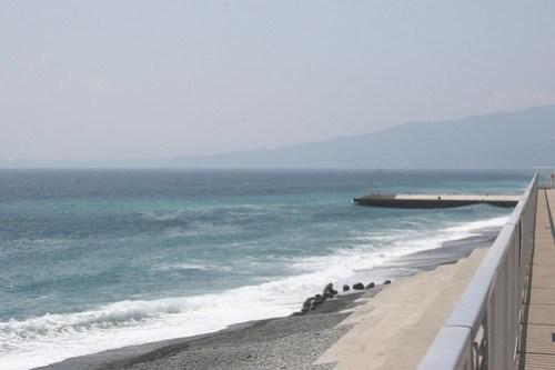 West along the ocean road