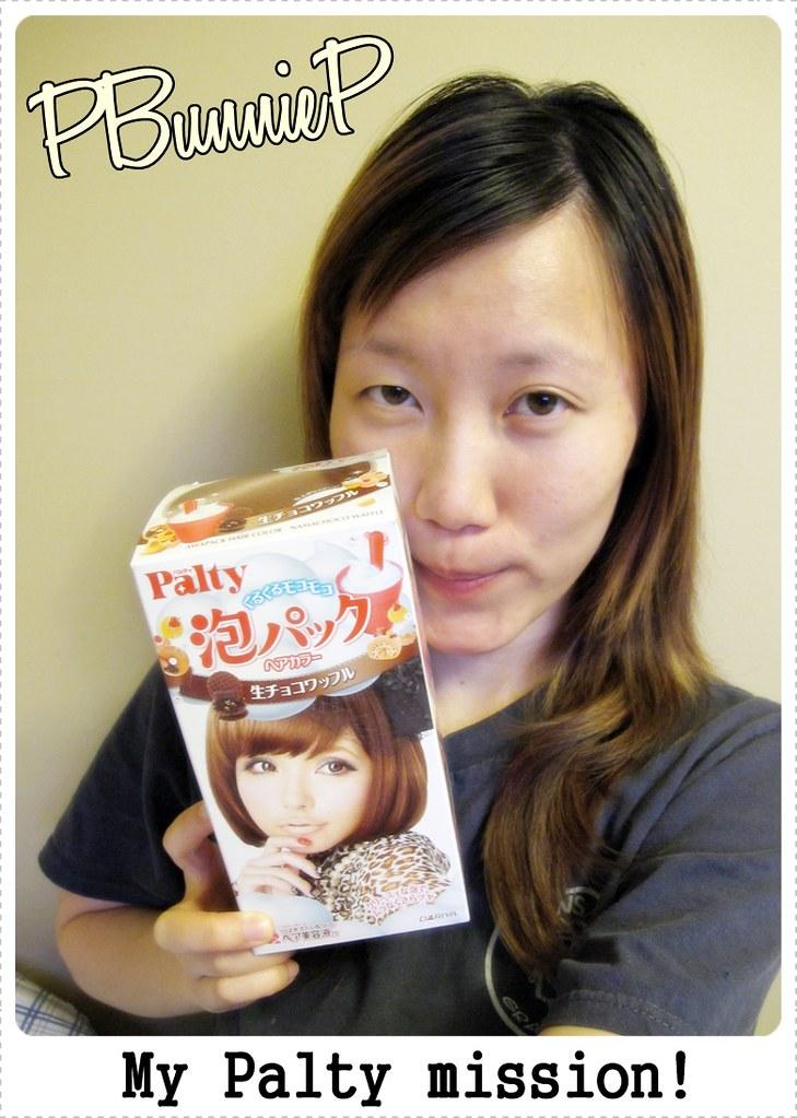 Palty foaming haircolour