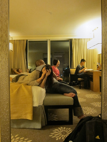 Marina Bay Sands Hotel room