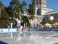 Ice skating Melbourne winter festival