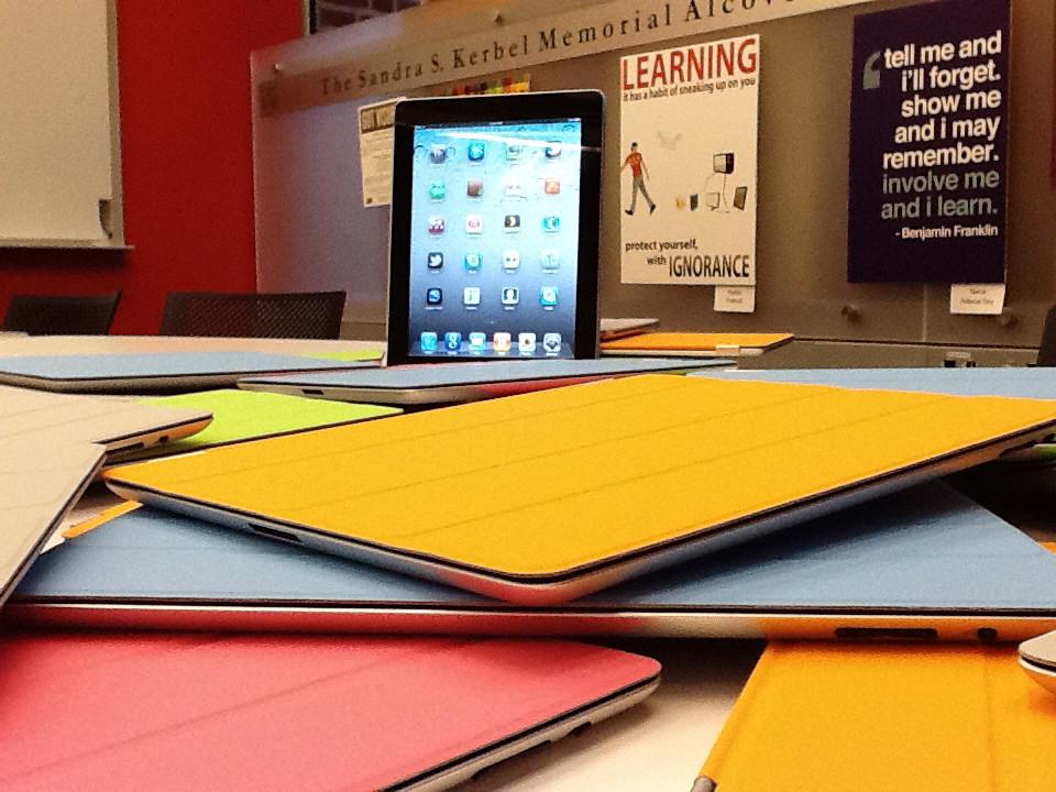 iPads in Kerbel Alcove