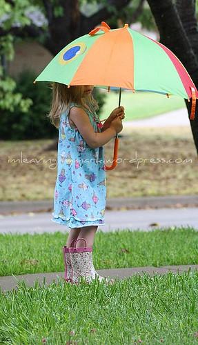 WM A in Rain