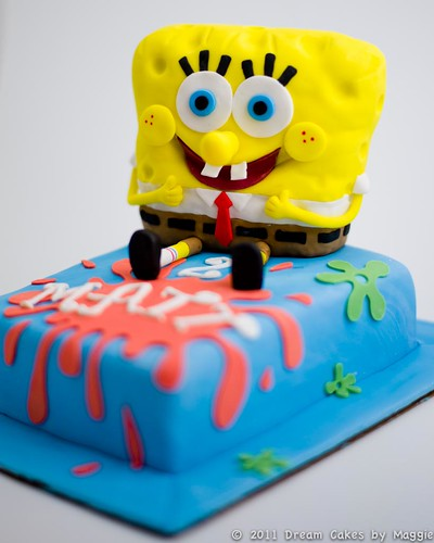 SpongeBob Birthday Cake