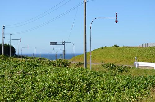 宗谷岬へ至る道