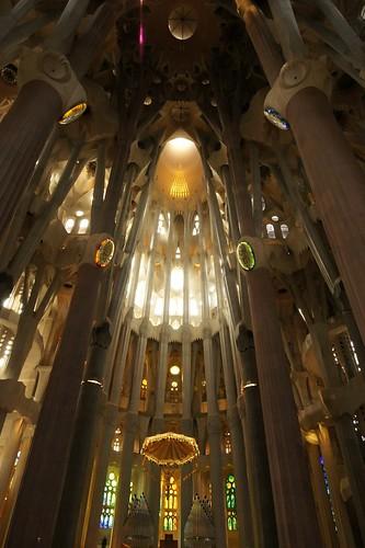 サグラダ・ファミリア大聖堂 内部