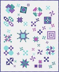 Test Your Skills Sampler Purple Teal