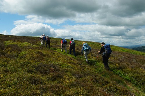 200110619-17_Crossing rough moorland - Maesyrychen Mountain by gary.hadden