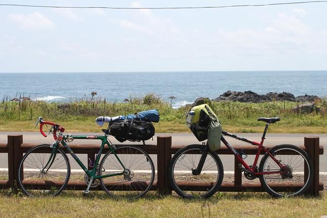 bikes, jeju island