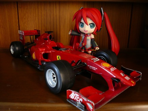 Nendoroid Hatsune Miku: Scuderia Ferrari version