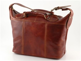 leather bag italian luggage tuscany