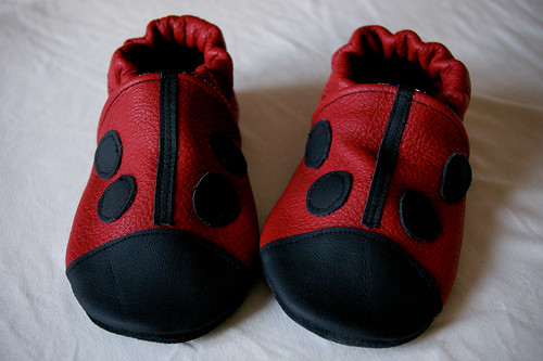 Ladybird shoes!
