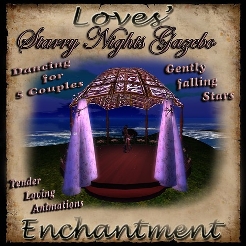 Love's Enchantment ~ Starry Nights Gazebo