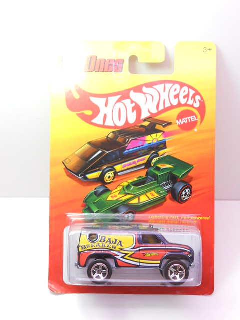 hot wheels hot ones baja breaker