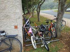 Crozet Elementary bike rack