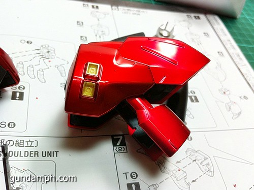MG Sazabi Metallic Coating (Titanium-Like Finish) (35)
