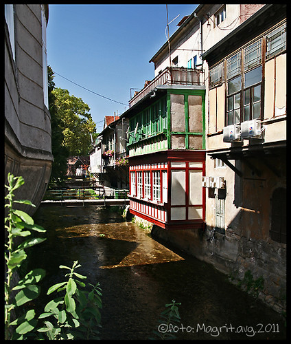Samobor, river houses