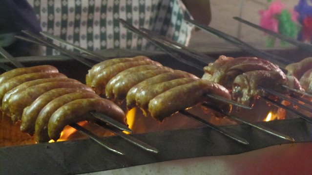 feast of san gennaro. sausage.