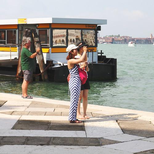 Venezia - San Giorgio  - Foto souvenir