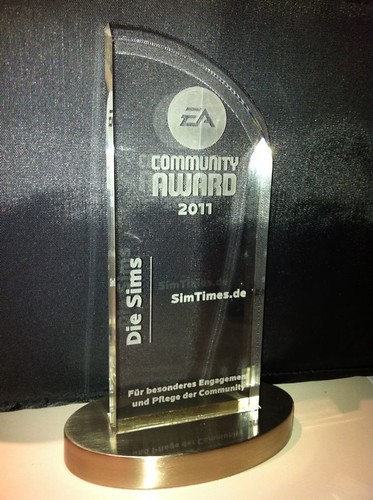 SimTimes Wins Award for Outstanding Commitment and Care of the Community