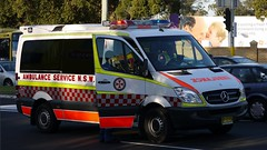 ASNSW Mercedes Benz Sprinter Ambulance