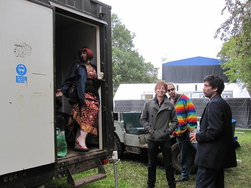 Backstage trailer