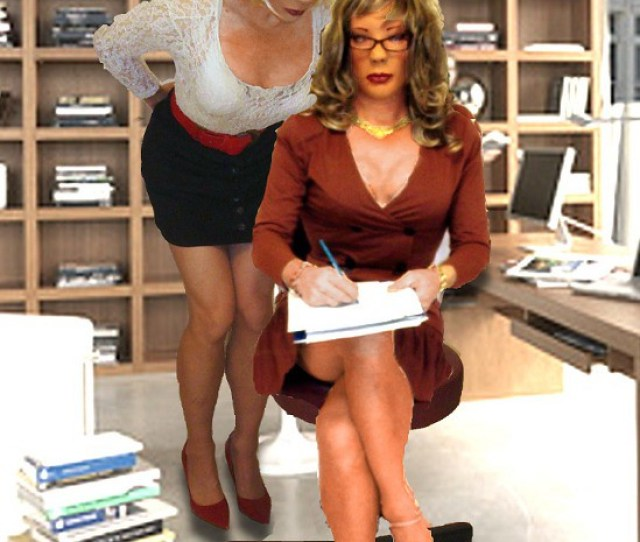 Kathy Kelly Leigh In The Office Kathy_leigh Tags Tv Cd Tgirl