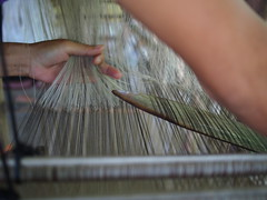 SIlk weaving technique, Ock Pop Tok, Luang Prabang