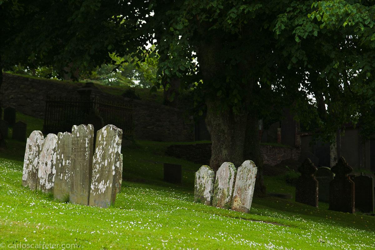Cementerio en la catedral de St David's