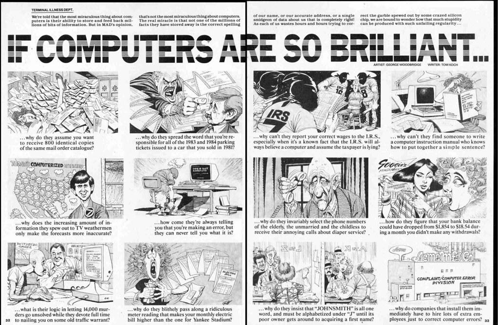 If Computers Are So Brilliant